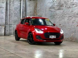 2019 Suzuki Swift AZ GLX Turbo Red 6 Speed Sports Automatic Hatchback.