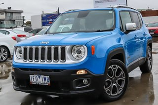 2015 Jeep Renegade BU MY15 Limited DDCT Blue 6 Speed Sports Automatic Dual Clutch Hatchback.