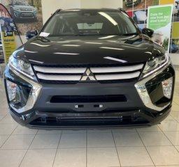 2018 Mitsubishi Eclipse Cross YA MY18 ES 2WD Black 8 Speed Constant Variable Wagon.