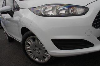 2016 Ford Fiesta WZ Ambiente Frozen White 5 Speed Manual Hatchback.
