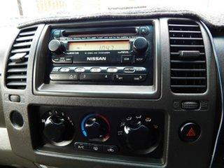 2007 Nissan Navara D40 ST-X Silver 6 Speed Manual Utility