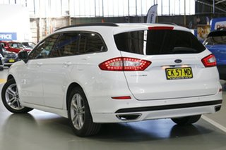 2016 Ford Mondeo MD Ambiente TDCi Frozen White 6 Speed Automatic Wagon.