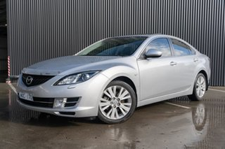 2008 Mazda 6 GH1051 Luxury Sunlight Silver 5 Speed Sports Automatic Sedan.