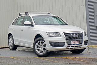 2012 Audi Q5 8R MY13 TDI S Tronic Quattro White 7 Speed Sports Automatic Dual Clutch Wagon.