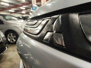 2012 Mitsubishi Outlander ZJ MY13 ES 4WD Metallic Silver 6 Speed Constant Variable Wagon