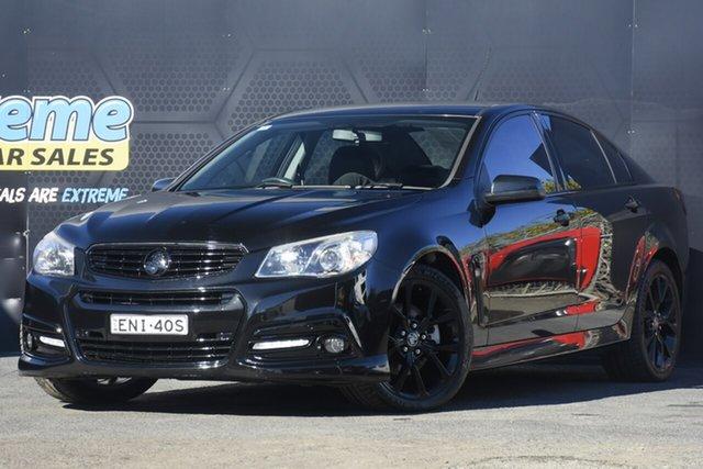 Used Holden Commodore VF MY15 SS V Campbelltown, 2015 Holden Commodore VF MY15 SS V Black 6 Speed Sports Automatic Sedan