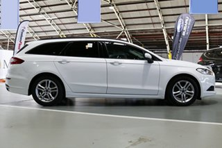 2016 Ford Mondeo MD Ambiente TDCi Frozen White 6 Speed Automatic Wagon