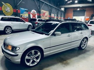 2002 BMW 3 Series E46 MY2002 320i Touring Steptronic Silver 5 Speed Automatic Wagon