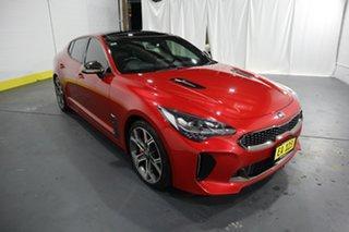 2018 Kia Stinger CK MY18 GT Fastback Red 8 Speed Sports Automatic Sedan.