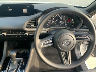 2021 Mazda 3 BP2H7A G20 SKYACTIV-Drive Pure Snowflake White 6 Speed Sports Automatic Hatchback