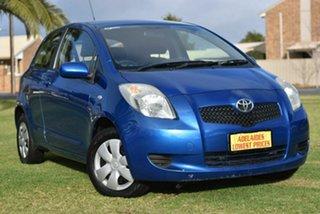 2008 Toyota Yaris NCP90R YR Blue 4 Speed Automatic Hatchback.