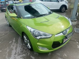 2013 Hyundai Veloster FS2 + Coupe Green Apple 6 Speed Manual Hatchback.