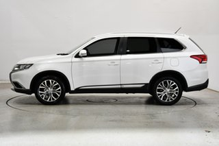 2015 Mitsubishi Outlander ZJ MY14.5 LS 2WD White 6 Speed Constant Variable Wagon.