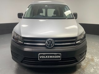 2016 Volkswagen Caddy 2K MY16 TSI220 Maxi DSG Trendline Silver 7 Speed Sports Automatic Dual Clutch.