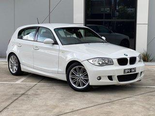 2006 BMW 118i E87 118i White 6 Speed Automatic Hatchback.
