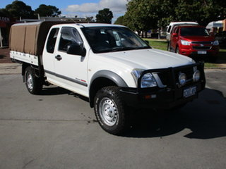 2006 Holden Rodeo RC MY06 UPGRADE LX (4x4) White 5 Speed Manual Spacecab.