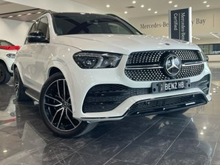 2019 Mercedes-Benz GLE-Class V167 GLE400 d 9G-Tronic 4MATIC White 9 Speed Sports Automatic Wagon.