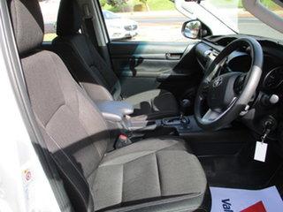 2018 Toyota Hilux GUN126R SR (4x4) White 6 Speed Automatic Dual Cab