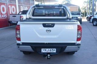 2016 Nissan Navara D23 S2 ST-X White Diamond 7 Speed Sports Automatic Utility.