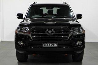 2021 Toyota Landcruiser VDJ200R Sahara Horizon Black 6 Speed Sports Automatic Wagon.