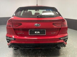 2019 Kia Cerato BD MY20 GT DCT Red 7 Speed Sports Automatic Dual Clutch Hatchback