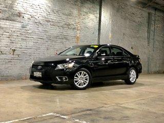 2011 Toyota Aurion GSV40R MY10 Touring Black 6 Speed Sports Automatic Sedan.