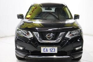 2017 Nissan X-Trail T32 Series II ST-L X-tronic 2WD Black/Grey 7 Speed Constant Variable Wagon.