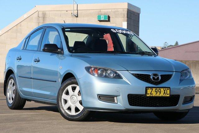 Used Mazda 3 BK10F1 Neo Brookvale, 2006 Mazda 3 BK10F1 Neo Blue 4 Speed Sports Automatic Sedan