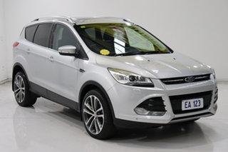 2014 Ford Kuga TF MY15 Titanium AWD Silver 6 Speed Sports Automatic Wagon