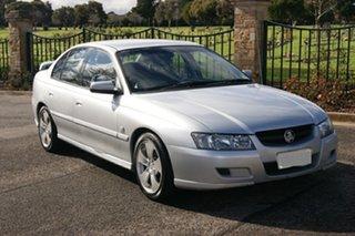 2005 Holden Commodore VZ Lumina Silver 4 Speed Automatic Sedan.