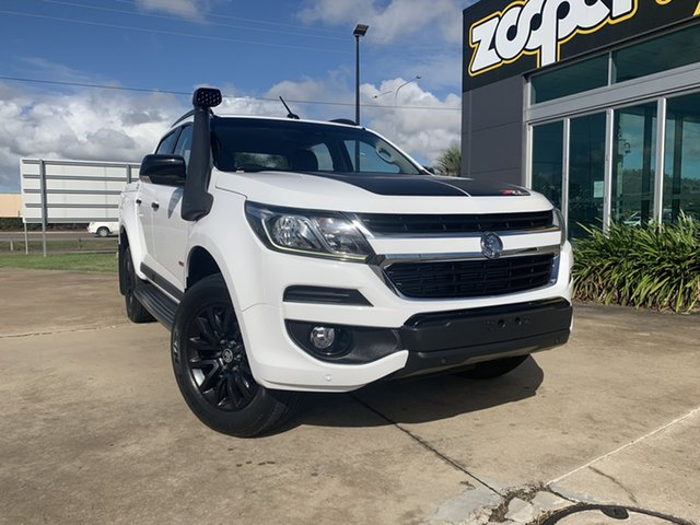Used Holden Colorado RG MY17 Z71 Pickup Crew Cab Townsville, 2016 Holden Colorado RG MY17 Z71 Pickup Crew Cab White/290816 6 Speed Sports Automatic Utility