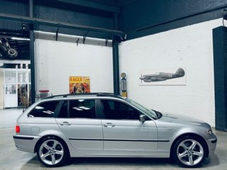 2002 BMW 3 Series E46 MY2002 320i Touring Steptronic Silver 5 Speed Automatic Wagon.