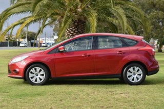 2012 Ford Focus LW Ambiente PwrShift Red 6 Speed Sports Automatic Dual Clutch Hatchback