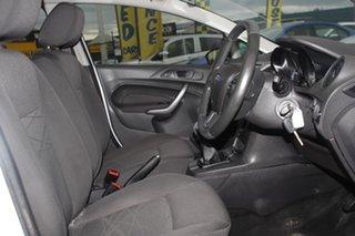 2016 Ford Fiesta WZ Ambiente Frozen White 5 Speed Manual Hatchback