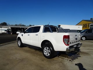 2020 Ford Ranger PX MkIII 2021.25MY XLT Double Cab Alabaster White 10 Speed Automatic.