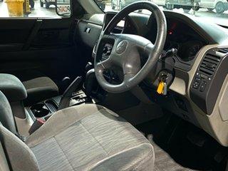 2003 Mitsubishi Pajero NP GLS White 5 Speed Sports Automatic Wagon