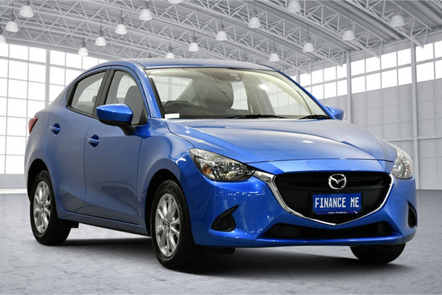 Used Mazda 2 DL2SAA Maxx SKYACTIV-Drive Victoria Park, 2018 Mazda 2 DL2SAA Maxx SKYACTIV-Drive Blue 6 Speed Sports Automatic Sedan