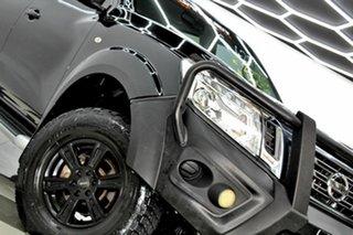 2017 Nissan Navara D23 Series II SL (4x4) Black 6 Speed Manual Dual Cab Utility.