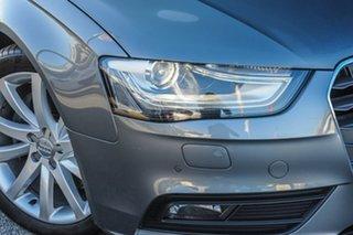 2014 Audi A4 B8 8K MY14 S Tronic Quattro Grey 7 Speed Sports Automatic Dual Clutch Sedan.