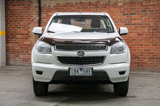 2013 Holden Colorado RG MY14 LX 4x2 White 6 Speed Sports Automatic Cab Chassis.
