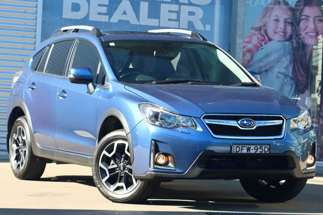 Used Subaru XV MY16 2.0I-S Rosebery, 2016 Subaru XV MY16 2.0I-S Blue Continuous Variable Wagon
