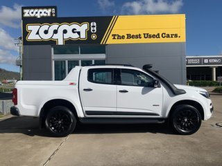 2016 Holden Colorado RG MY17 Z71 Pickup Crew Cab White/290816 6 Speed Sports Automatic Utility.
