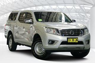 2016 Nissan Navara D23 S2 RX 4x2 Brilliant Silver 7 Speed Sports Automatic Utility.