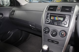 2012 Toyota Corolla ZRE152R MY11 Ascent Sport Graphite Metallic/clith 6 Speed Manual Sedan