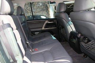 2007 Toyota Landcruiser VDJ200R Sahara (4x4) Crystal Pearl 6 Speed Automatic Wagon
