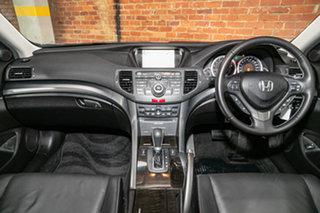 2012 Honda Accord Euro CU MY12 Luxury Navi Alabaster Silver 5 Speed Automatic Sedan