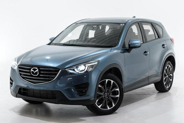Used Mazda CX-5 KE1022 Grand Touring SKYACTIV-Drive AWD Berwick, 2016 Mazda CX-5 KE1022 Grand Touring SKYACTIV-Drive AWD Blue 6 Speed Sports Automatic Wagon