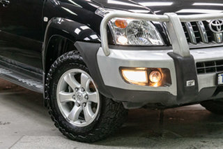 2005 Toyota Landcruiser Prado GRJ120R Grande Black 5 Speed Automatic Wagon.