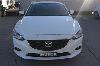 2013 Mazda 6 GJ1031 Sport SKYACTIV-Drive White Pearl 6 Speed Sports Automatic Sedan.