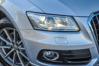 2015 Audi Q5 8R MY15 TDI S Tronic Quattro Silver Chrome 7 Speed Sports Automatic Dual Clutch Wagon.